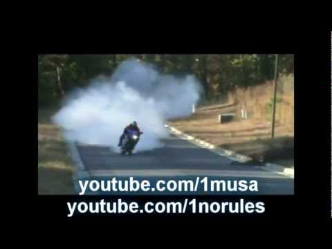 Crazy Bike Burnout Compilation