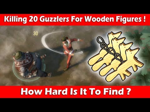 Killing 20 Guzzlers For Finding Wooden Figures ! Last Day On Earth Survival