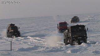 Конвой на Север. Чукоткский зимник через ледяной океан(Небольшая серия интересных моментов из фильма