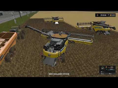 Farming simulator 17 Timelapse Australian x16 Map Broad acres Ep#2