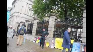 Dáil Éireann Protest - Who gets the Right - Part 2