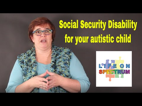 Social Security Disability for your autistic child
