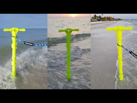 Best Boat Sand Auger Anchor For The Beach, Sand, Or Shallow Water By SandShark.