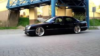 Mercedes W210 airride cruisin'