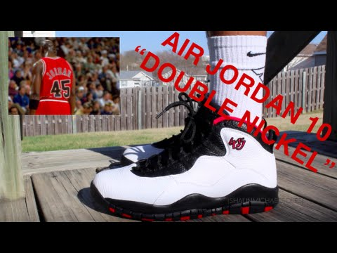 new product d2661 bef84 Air Jordan 10 Double Nickel Review + On-feet