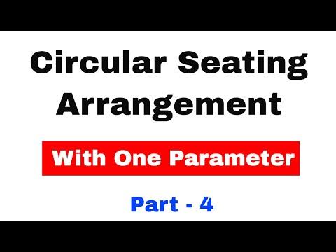 Circular Arrangement with One Parameter Center Facing for SBI CLERK 2018 Pre Exam | Part 4