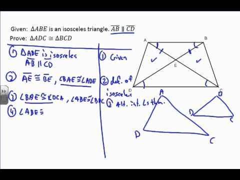 Triangle Proof Example 6 - YouTube