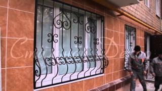 видео кованые перила на балкон