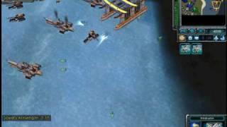Red Alert 3 - Allied Mission 7 - Tokyo Harbor Video 1 of 3