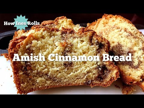 Delicious Amish Cinnamon Bread | Easy Baking Tutorial | *How Ines Rolls*