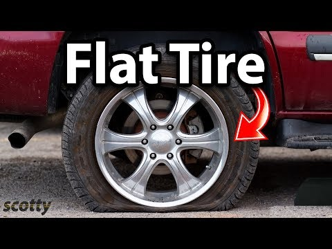 How to Inflate a Flat Tire on Your Car (Tire Inflator)