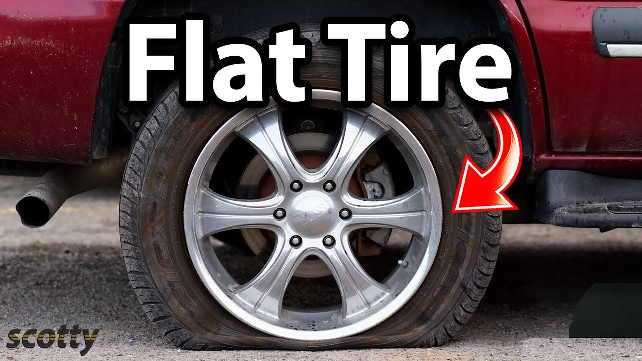 flat tire. Delighful Flat Scottykilmer Carrepair Cars And Flat Tire F