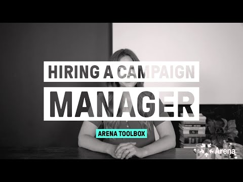 Hiring a campaign manager