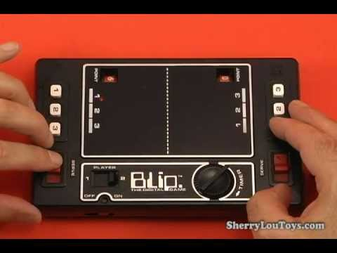 Classic 1977 Blip Video Game by TOMY on Playing with Toys