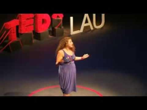 On imperfection and art: Hilda Abla (Hildos) at TEDxLAU