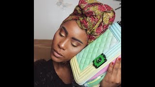 Budget Bougie:Chanel Rainbow Boy Bag Dupe Unboxing (Aliexpress Handbag)