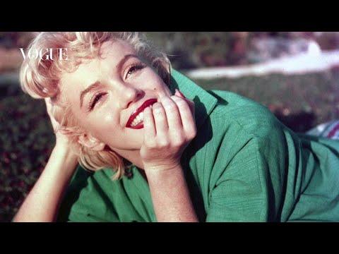 Poco maquillaje, boca potente: el truco de Marilyn Monroe