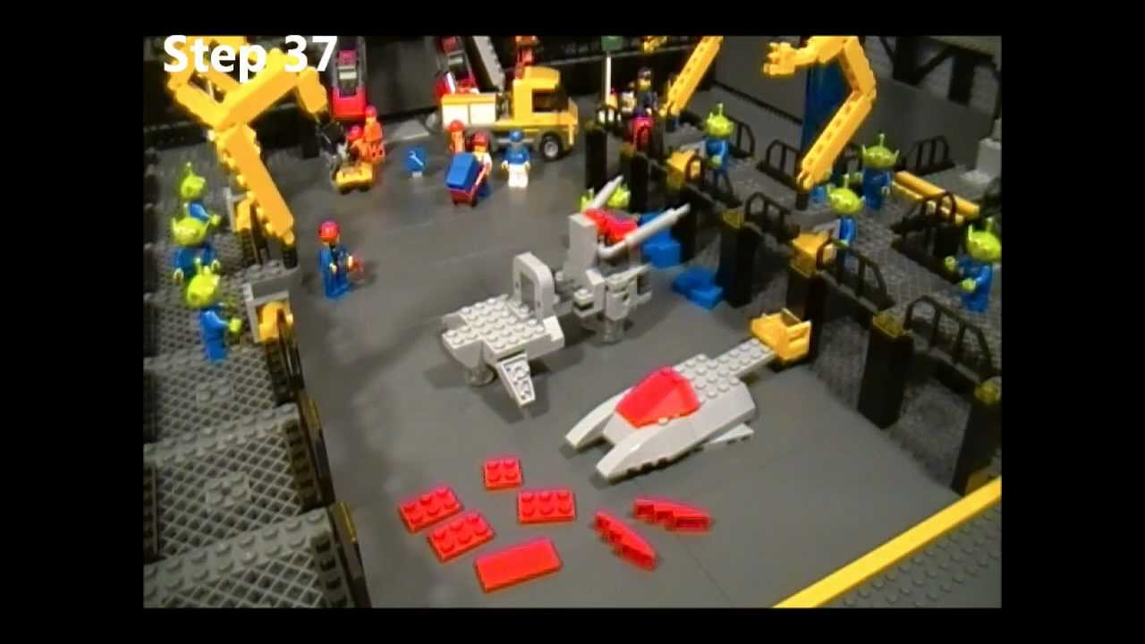 Lego Vulture Instructions Part 1 Of 2 Starcraft Ii Terran Youtube