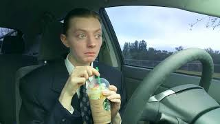 Starbucks Christmas Tree Frappuccino - Drink Review