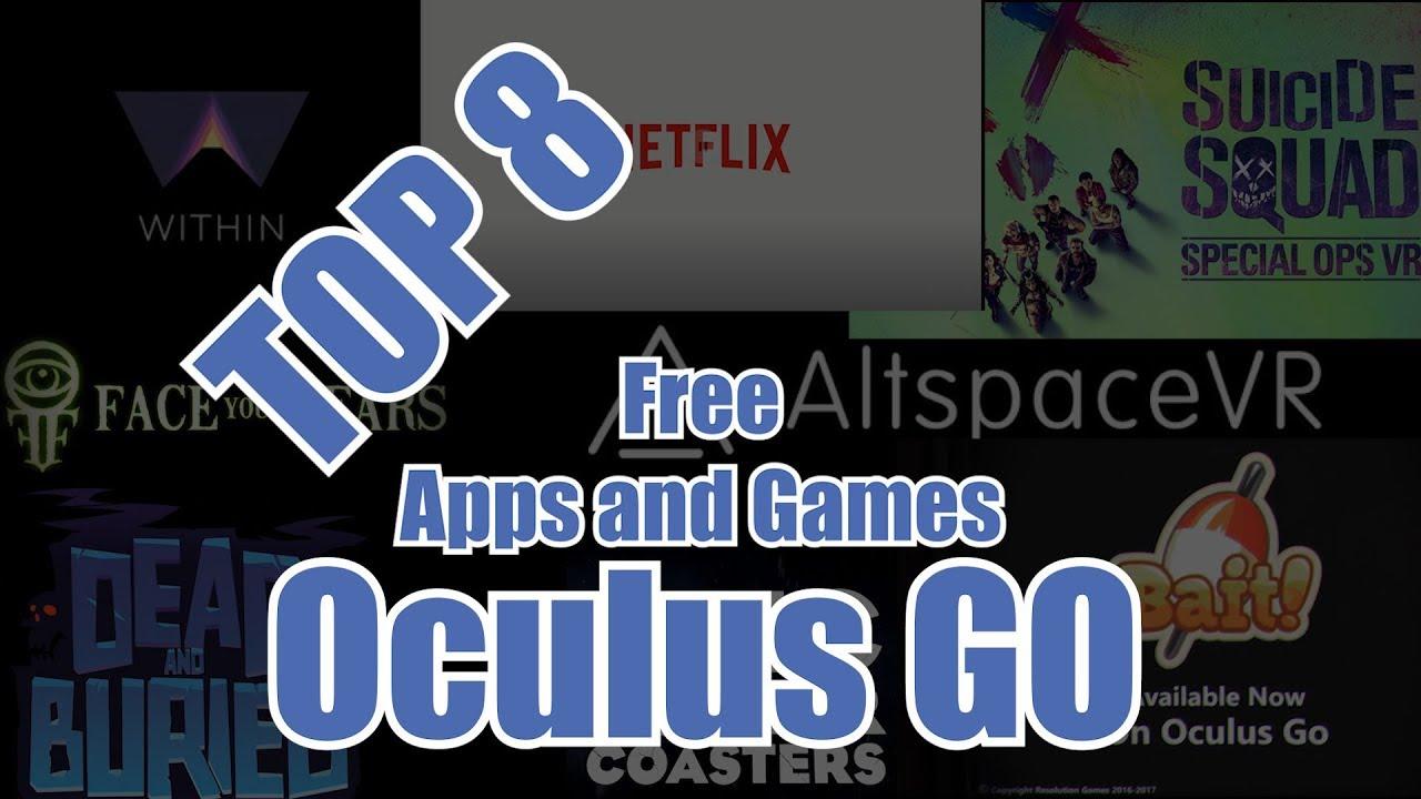 best oculus go apps