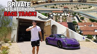 homepage tile video photo for Sneaking into the Most EXPENSIVE & ELITE Racetrack in America!