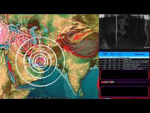 8/30/2017 -- Earthquake Update -- Magnitudes increase in multiple locations -- USA pressure