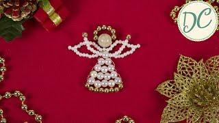 видео Ангелочки из бисера