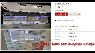 Kako sam kopirao kuhinju od € 43.000 | How did I remake a € 43,000 kitchen