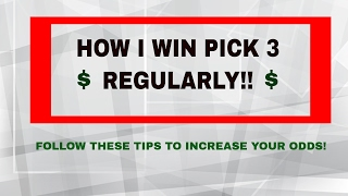HOW TO WIN PICK 3!