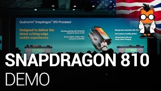 Qualcomm Snapdragon 810 rendering demo - Uplinq 2014