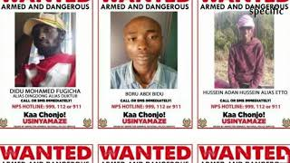 Police release photos of suspects linked to Dusit attack | Kenya news today
