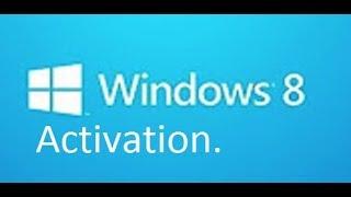 Comment Activer Windows 8 et 8.1 en 20 secondes .v.2.