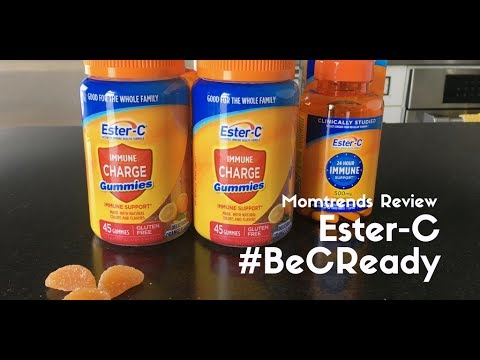 Be Ready For Anything With Ester-C