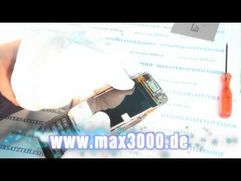 Anleitung Nokia E66 Display wechseln Displayglas lautsprecher.mpg