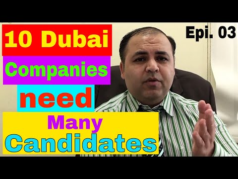 10 Plus Open Jobs in Dubai || Salary 7000 AED || Oct-Nov 2017 || Jobs in Dubai
