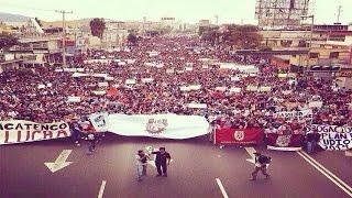 Marcha IPN Huelum Instituto Politécnico Nacional 25/09/2014