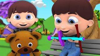Джек быть ловкий | детские стишки | Little Treehouse | Jack Be Nimble