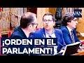 Choque en el Parlament entre Arrimadas y el vicepresidente