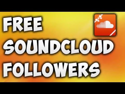 How To Get Free SoundCloud Followers Instantly [NEW METHOD] - YouTube