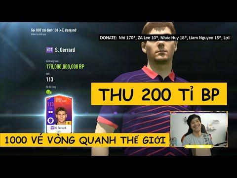 6m chơi full 1000 vé VÒNG QUANH THẾ GIỚI kiếm hơn 200 tỉ BP