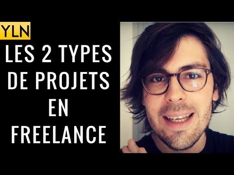 LES 2 TYPES DE PROJETS EN FREELANCE !