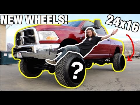 I HAVE THE MOST STANCED CUMMINS ON YOUTUBE NOW!!