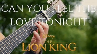 The Lion King Can You Feel the Love Tonight Fingerstyle Acoustic Guitar Cover Король Лев 2019.mp3