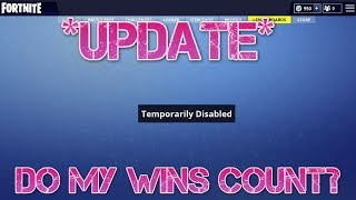*UPDATE* WHEN ARE THE FORTNITE LEADERBOARDS BACK AND WHY ARE THEY DOWN (FORTNITE BATTLE ROAYLE)