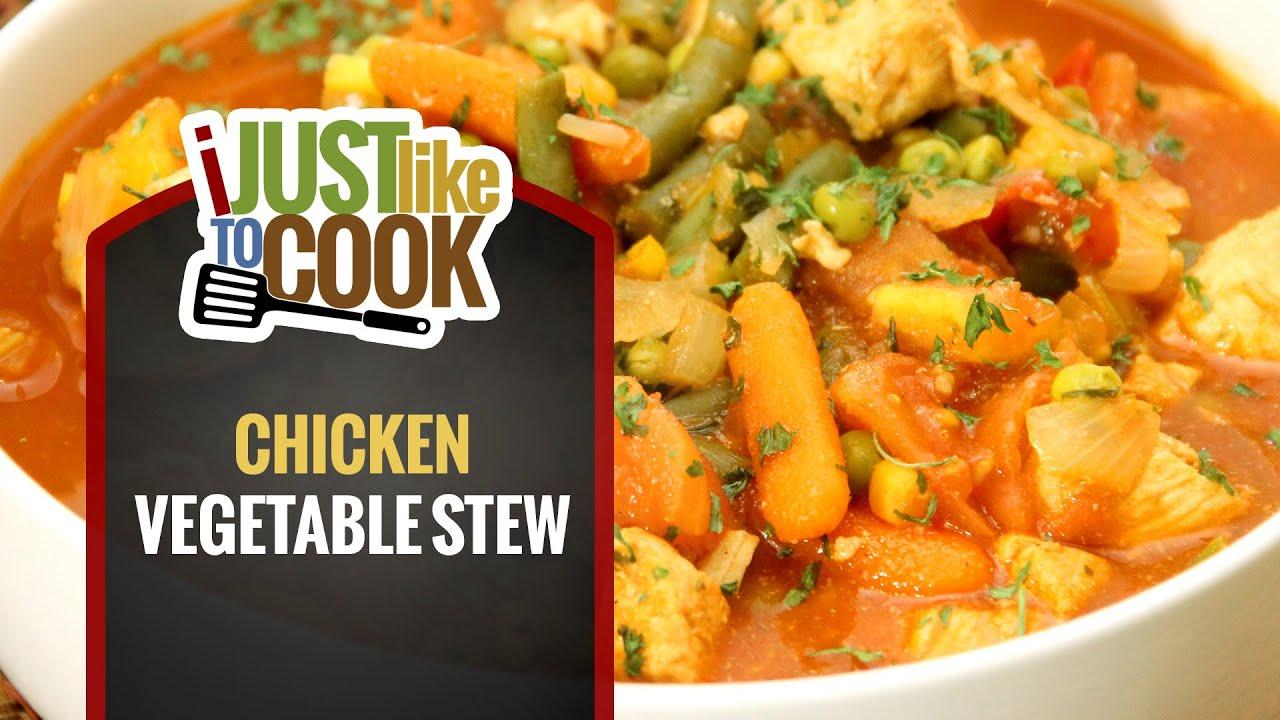 healthy chicken vegetable stew