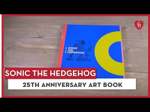 Official Sonic 25th Anniversary Art Book