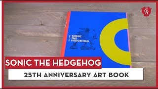 See the official Sonic 25th Anniversary Art Book