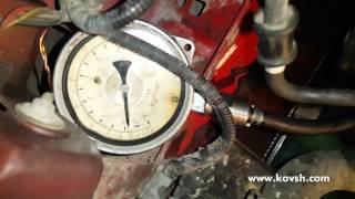 Перевірка тиску підкачки ПНВТ Bosch VP-30 на Ford Transit 2.0 TD