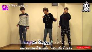 [TH-KARAOKE] 100% (JongHwan, RokHyun, HyukJin) Cover Ailee