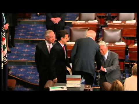 Raw: Schatz Sworn in As US Senator for Hawaii